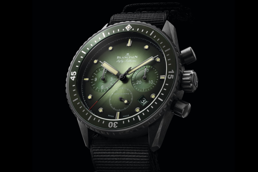 new blancpain fifty fathoms watch