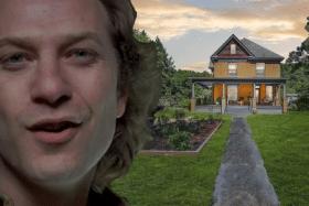 Buffalo Bill House with Buffalo Bill edited on left side