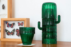 Cactus Glasses Set six