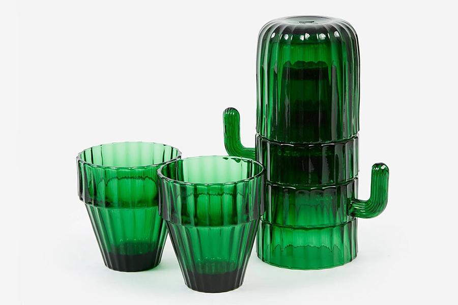 Cactus Glasses Set cups