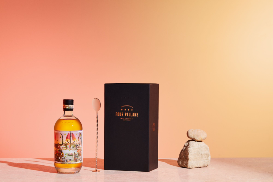 Celebrate Christmas with Four Pillars' Pudding-Distilled Gin
