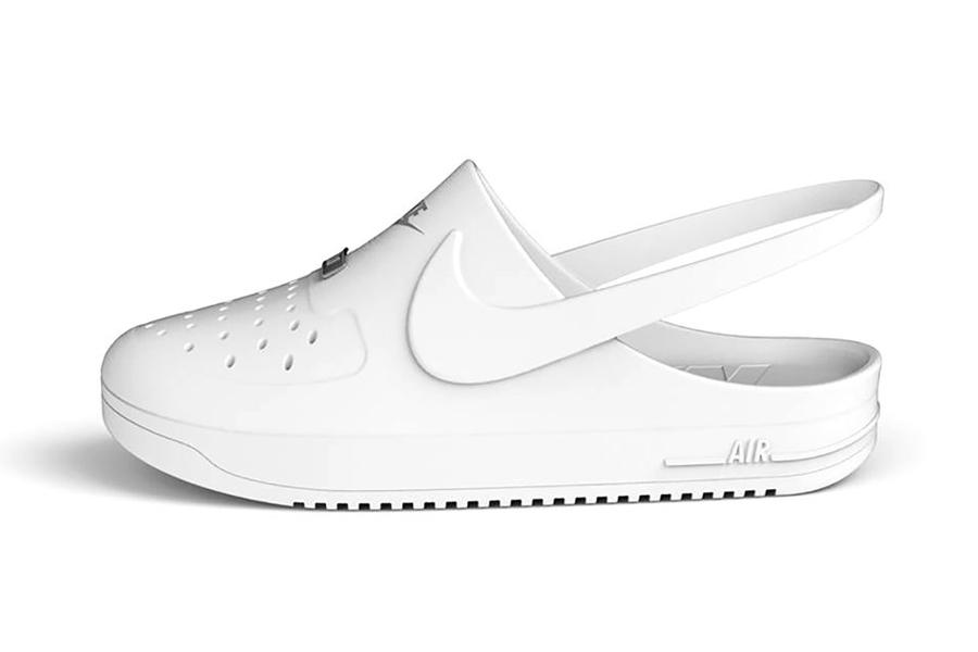 Crocs x Nike Air Force 1 4
