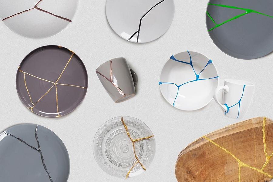 DIY Kintsugi Kit fix broken ceramic