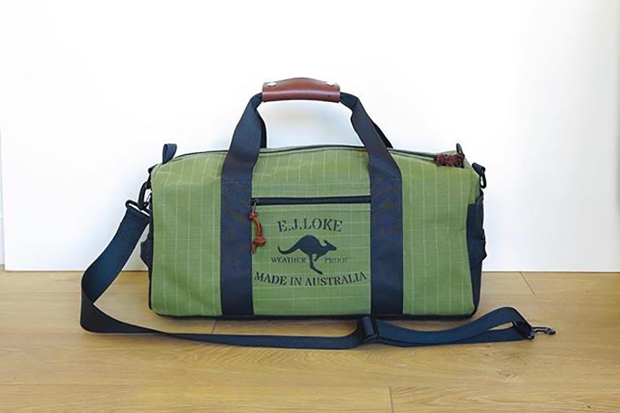 green EL Joke Aussie Canvas Bags