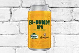 A can of EU-BUNDY IPA