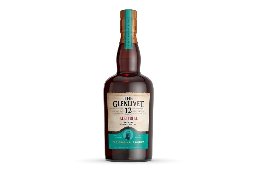 The Glenlivet 12 Year Old Illicit Still Whisky bottle