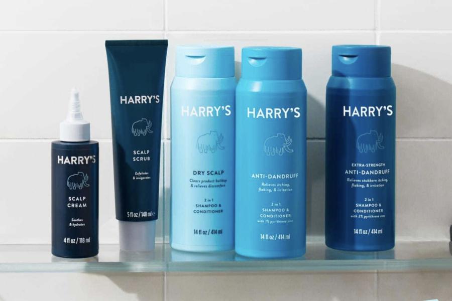 Harry's Anti Dandruff and Scalp Care set