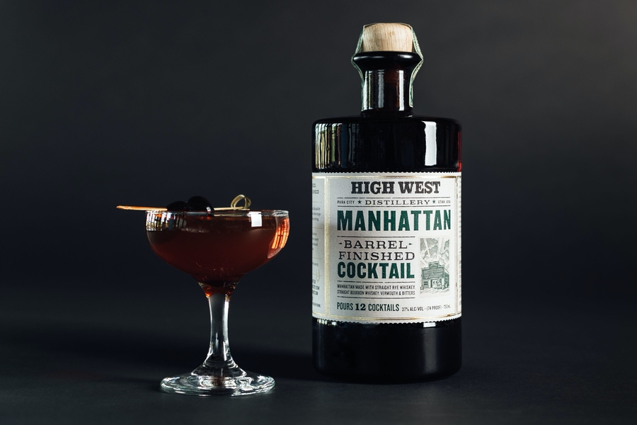 High West Bottled Cocktail
