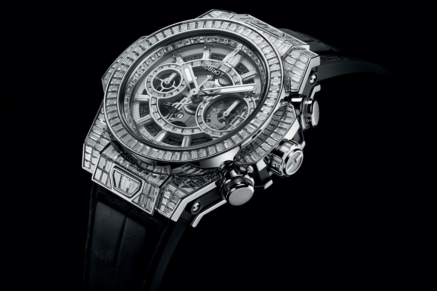 Hublot Haute Joaillerie Collection Classic Fusion High Jewellery watch