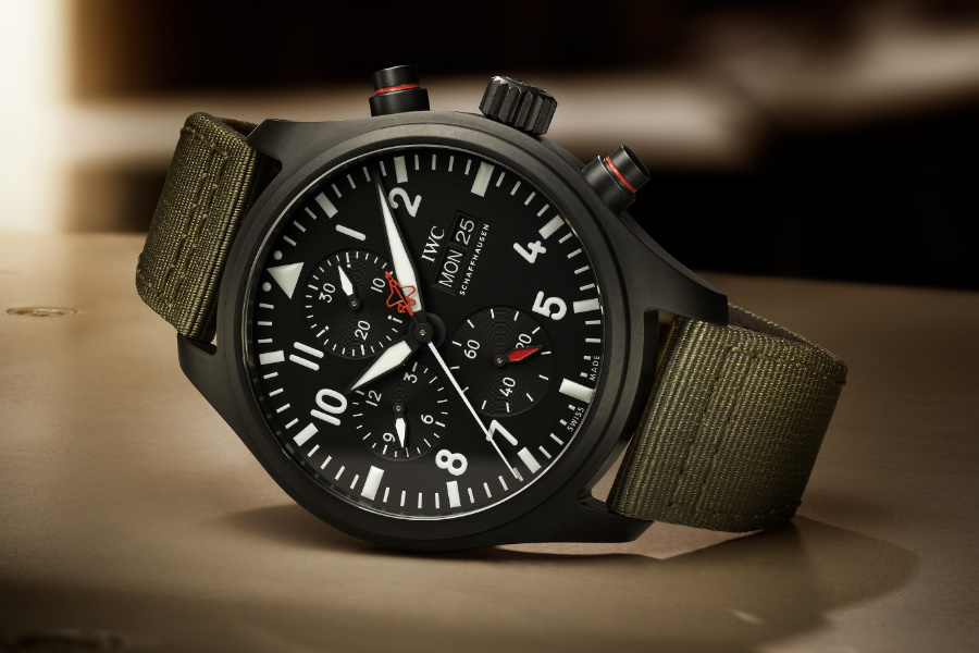 IWC latest top gun watch
