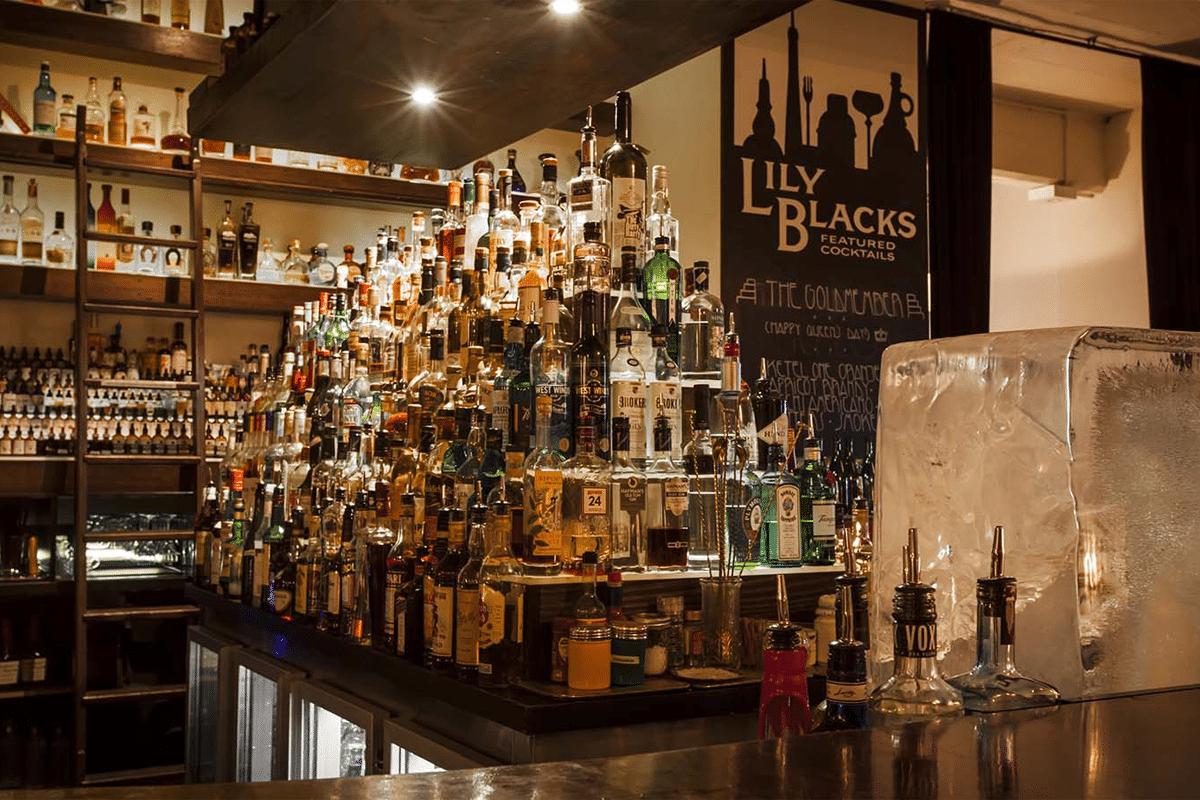 Lily Blacks Gin Bar Melbourne