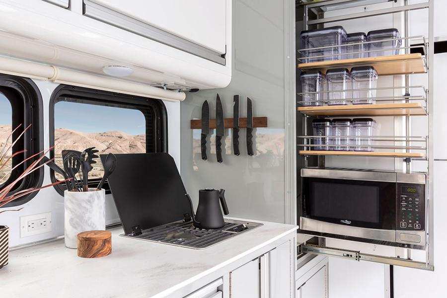 Living Vehicle 2020 cupboard