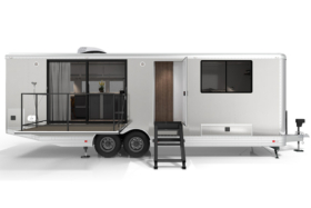 Living Vehicle 2020 front entrance