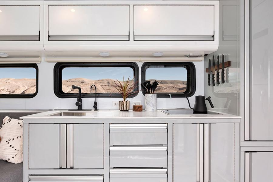 Living Vehicle 2020 kitchen