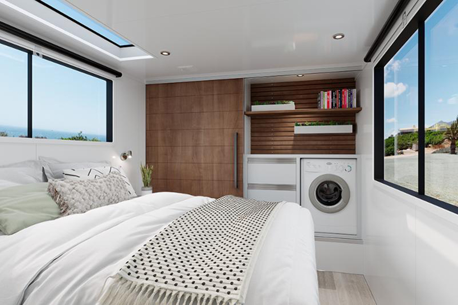 Living Vehicle 2020 bed