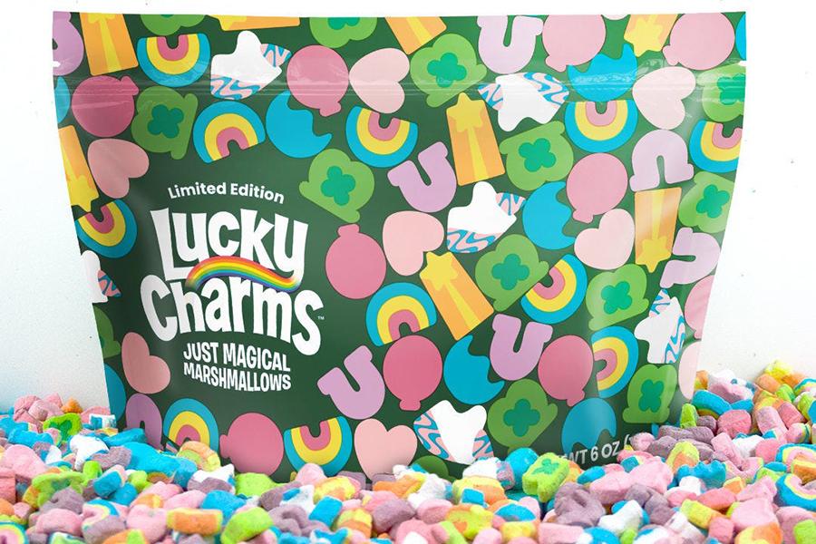 Lucky Charms Magic Marshmallows