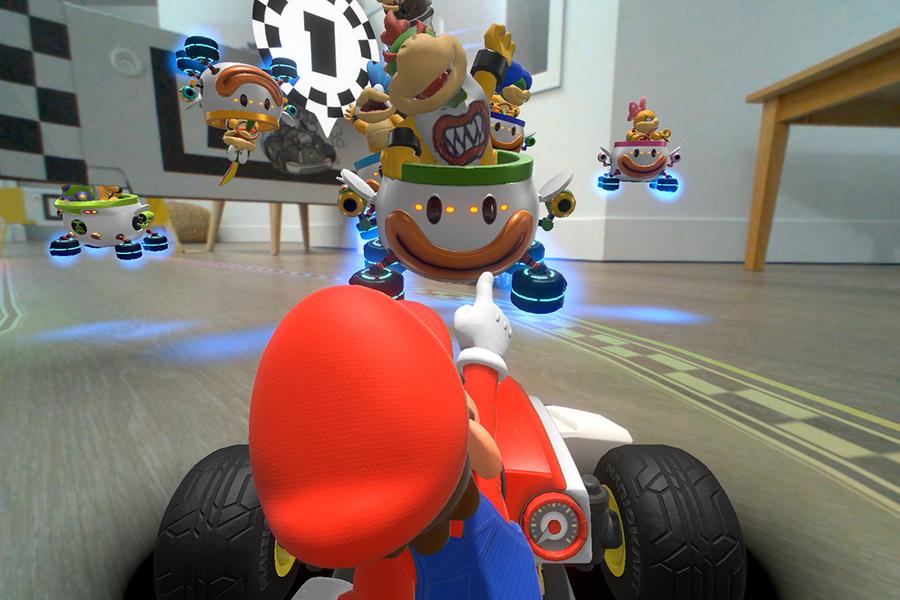 Mario Kart Live driving