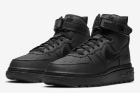 Pair of Nike AF1 boots