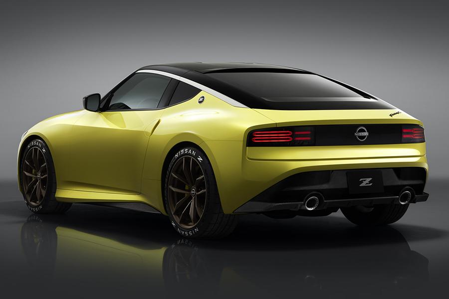 Nissan Z Proto rear side