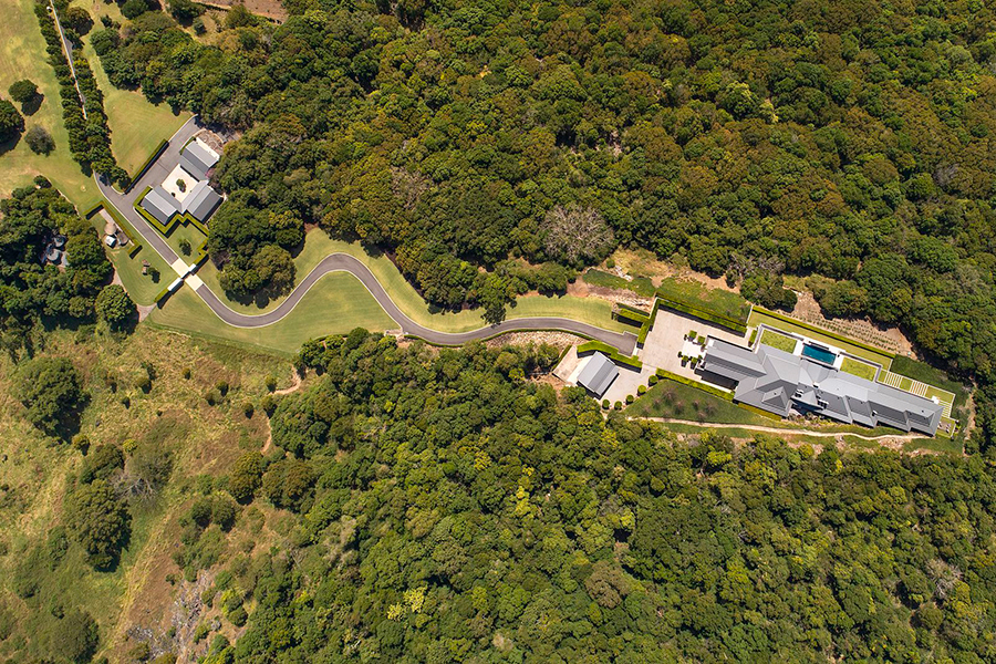 Noosa House $15 million aerial view