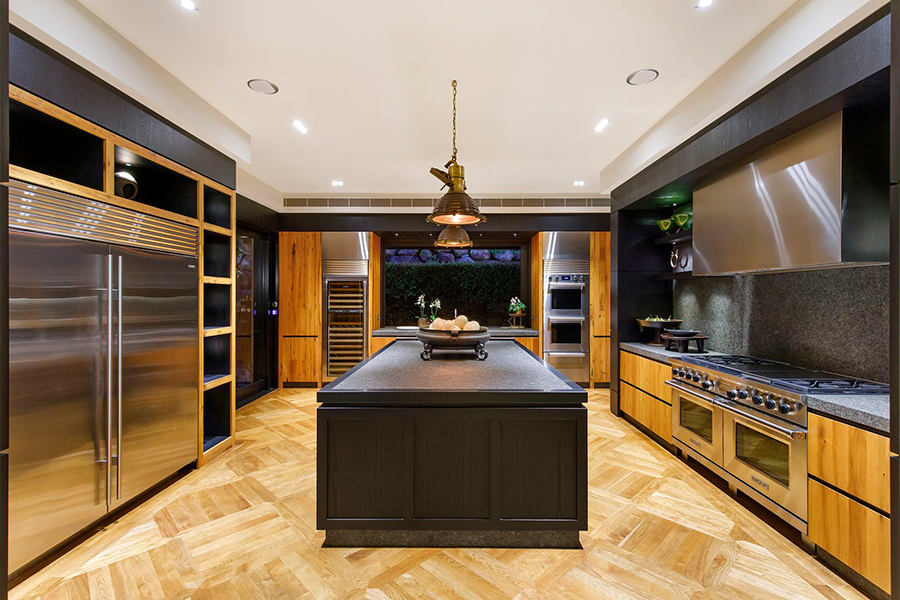 Noosa House $15 million kitchen