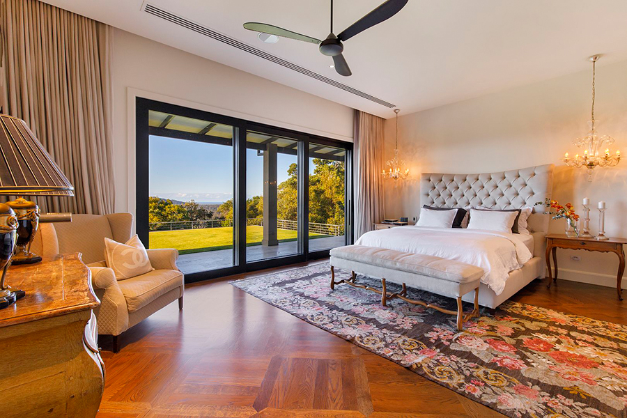 Noosa House $15 million bedroom