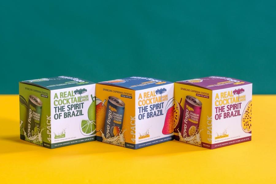 Novo Fogo Canned Cocktails