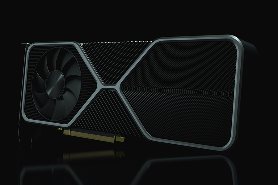 Nvidia RTX3900 side view