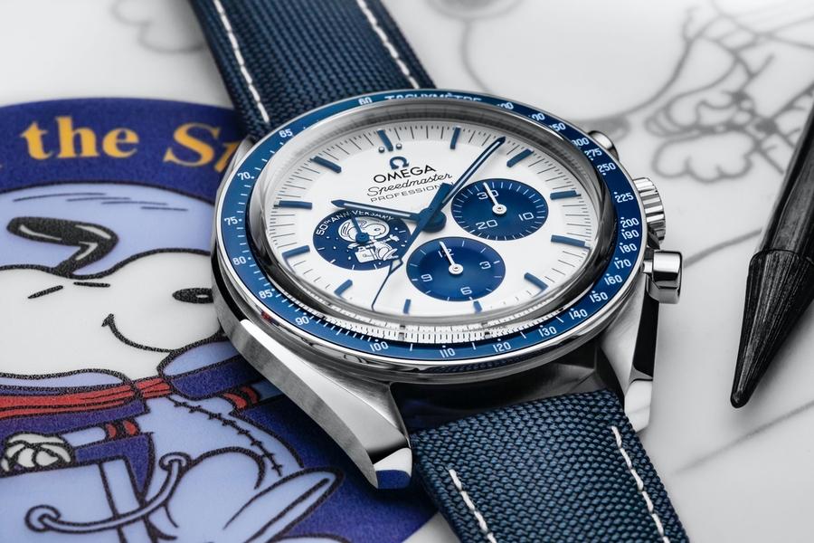 Omega Speedmaster Snoopy 50th Anniversary