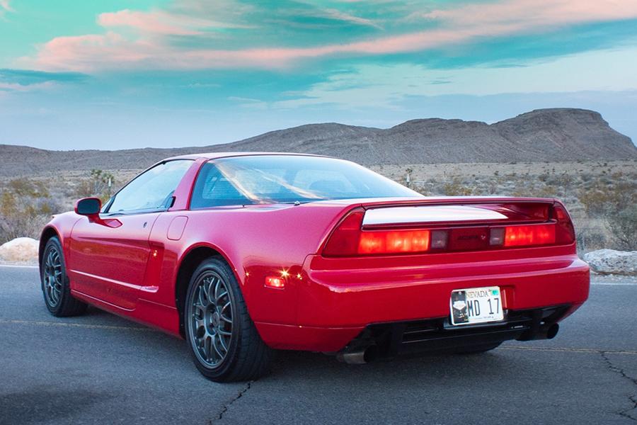 One-Owner 12k-Mile 1999 Acura NSX Zanardi Edition #51 back
