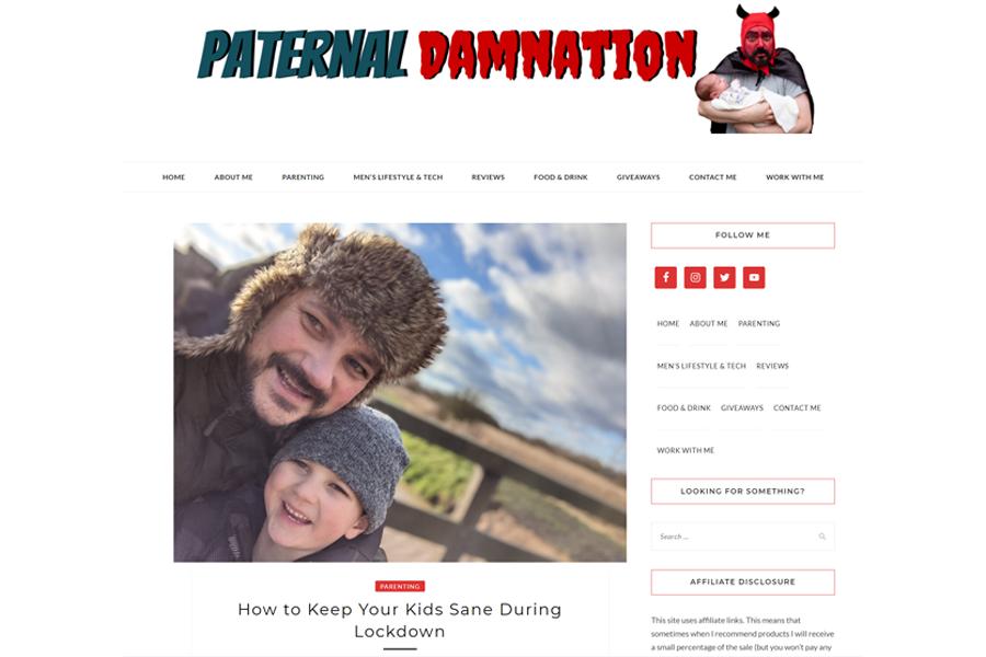 Parental Damnation