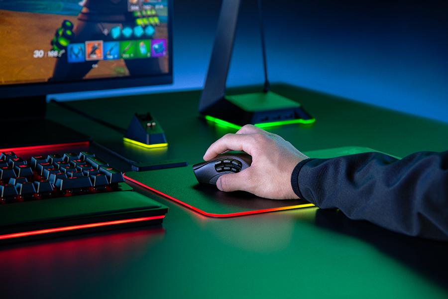 Razer Naga Pro Mouse in desktop