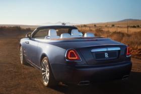 Three quarters back 2020 Rolls-Royce Dawn