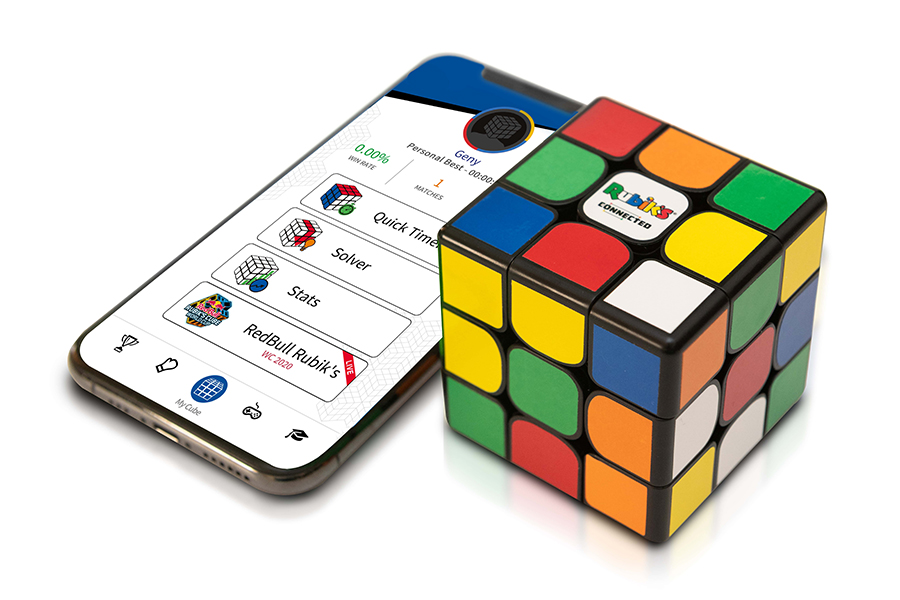 Rubiks Connected to mobile