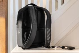 Back of Samsonite x Jacquard Google Backpack