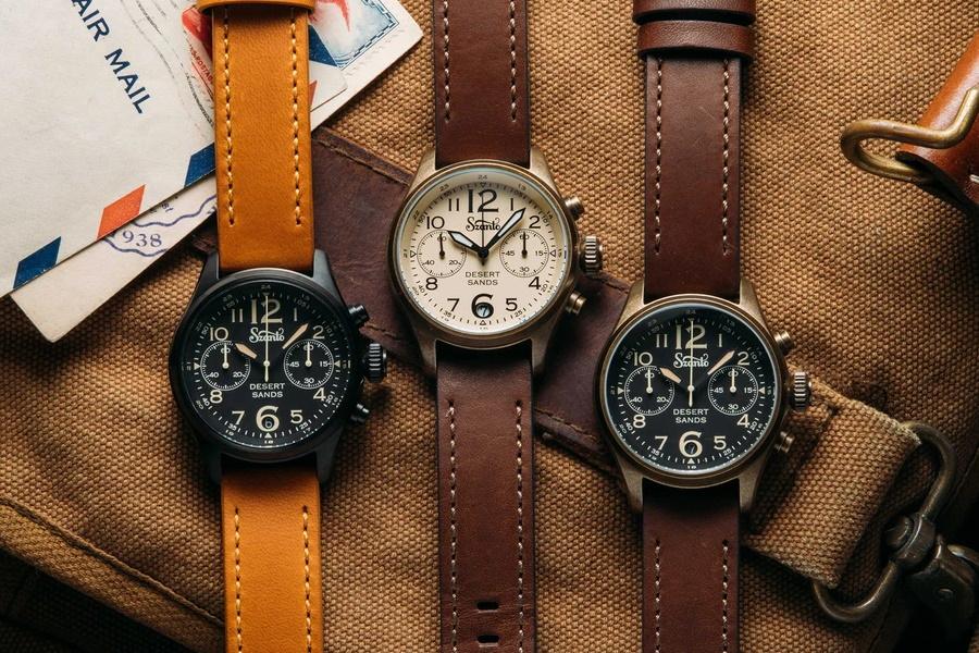 Szanto Desert Sands Chronograph 4550 Series watches