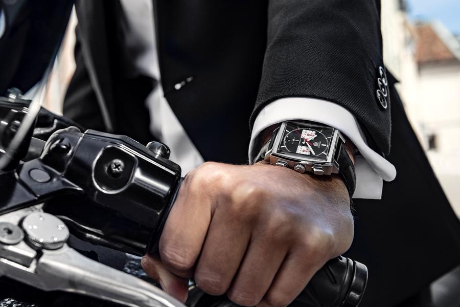 TAG Heuer 2020 Monaco wrist