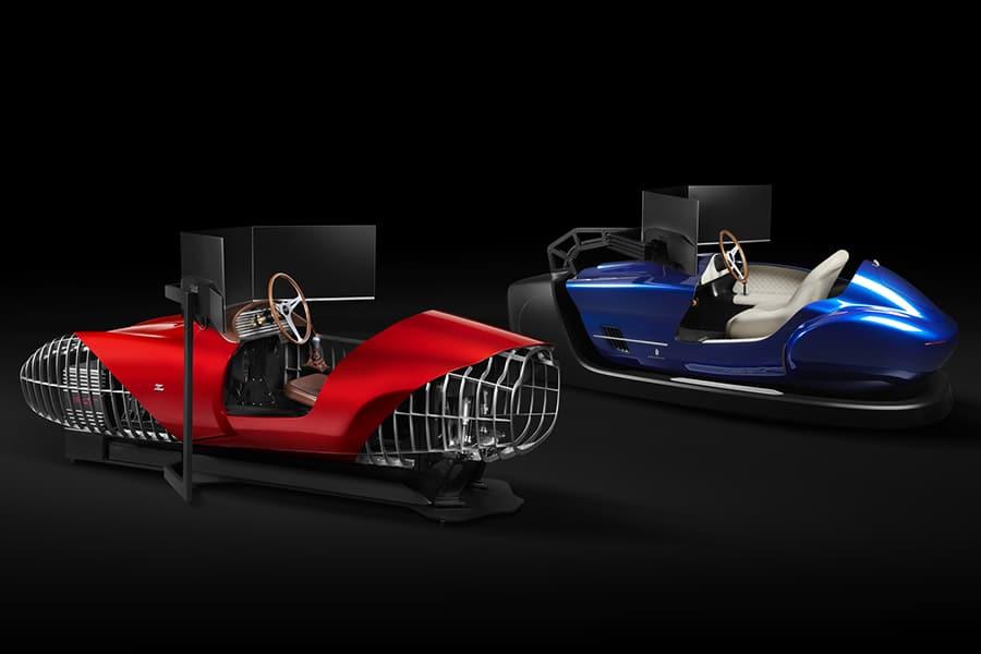 TCCT EClassic Racing Simulator