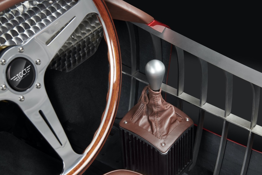 TCCT EClassic Racing Simulator steering wheel