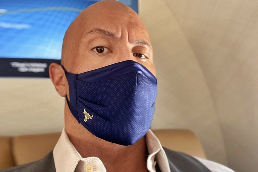 The Rock mask