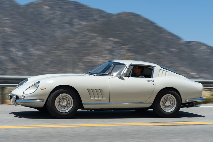 This 1966 Ferrari is the Most Expensive Car Ever Sold Online side view