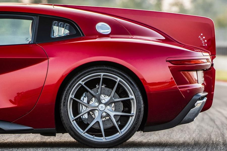 Touring Superleggera Aero 3 Coupe wheel