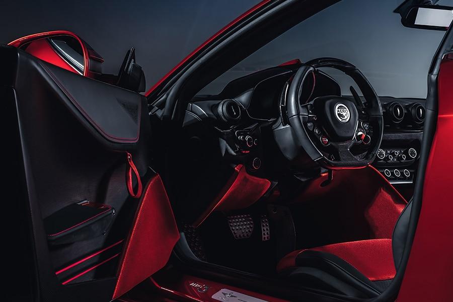 Touring Superleggera Aero 3 Coupe steering wheel
