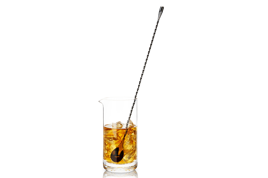 Viski Gunmetal Cocktail spoon