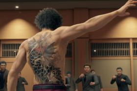 yakuza like a dragon screen
