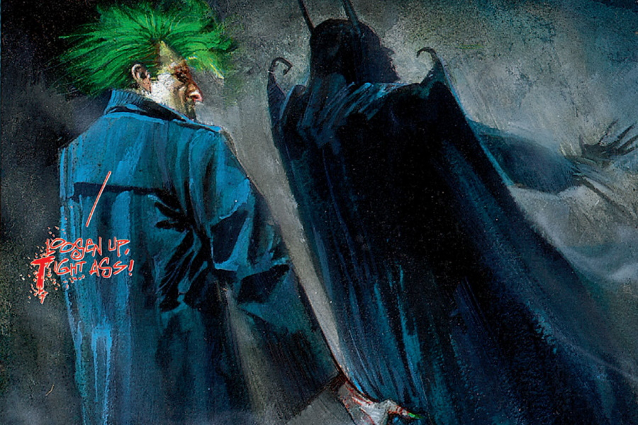 arkham asylum is one of the best graphic novels