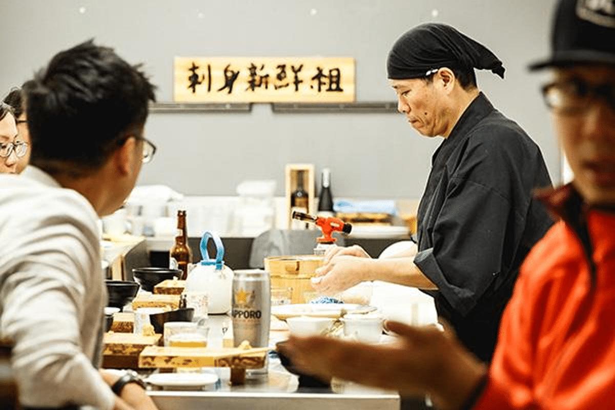 Japanese near me: sashimi shinsengumi