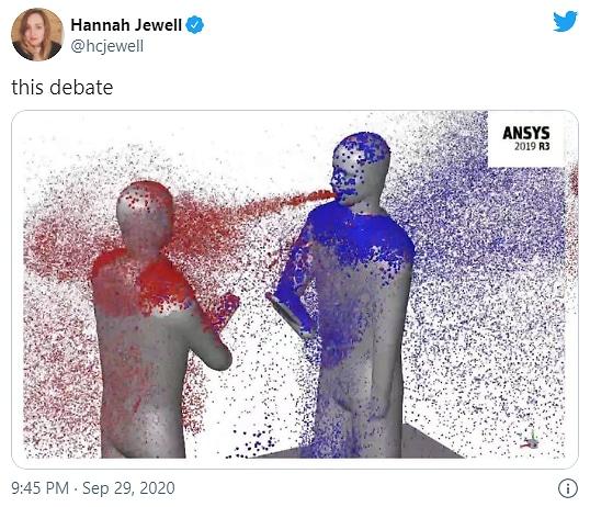 Presidential debate meme