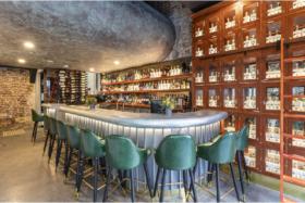 Bar at King's Cross Distillery