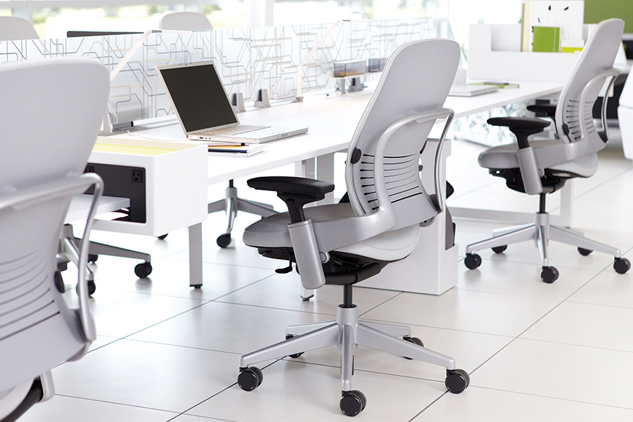 Steelcase Leap Fabric Chair Best Ergonomic Office Chairs